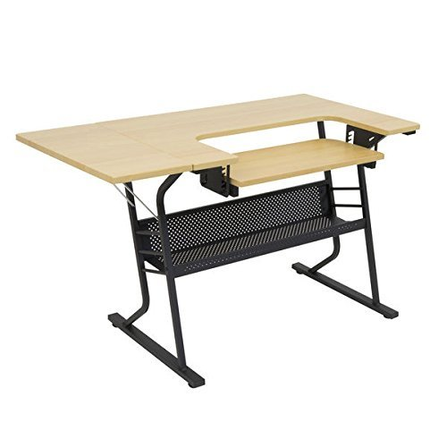 Studio Designs Eclipse Sewing Machine Table Brown
