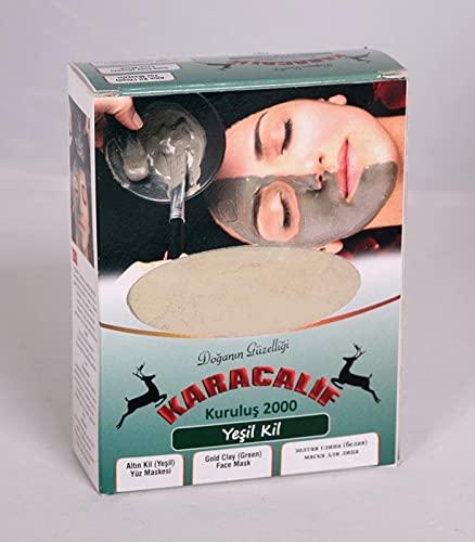 Mascarilla verde - Mascarilla facial, Mascarilla removedora de puntos negros, Mascarilla antienvejecimiento - Limpieza profunda y poros - Para todo tipo de piel 250g