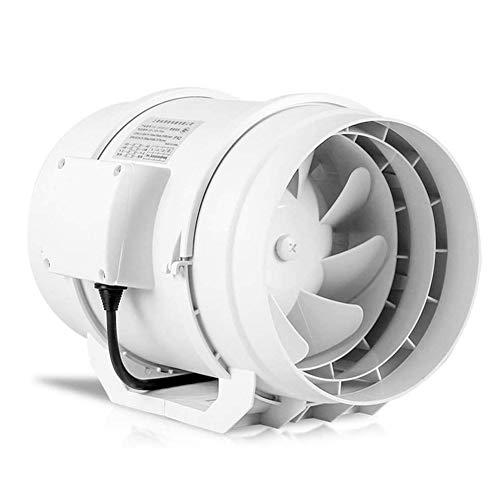LXZDZ Cocina inodoro extractor de ventilación ventana de rejilla ventiladores de extracción de aire ventilación de aire soplador de ventanas extractor de metal