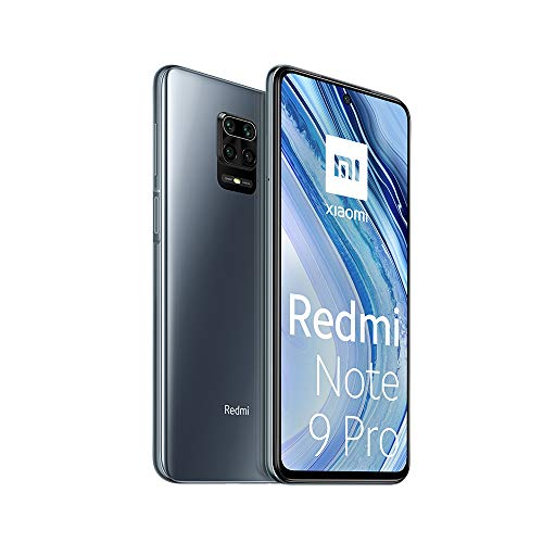 Smartphone XIAOMI REDMI Note 9 Pro 6,67'' LCD + 6GB/128GB 4G-LTE NFC DUALSIM A10.0 Grey