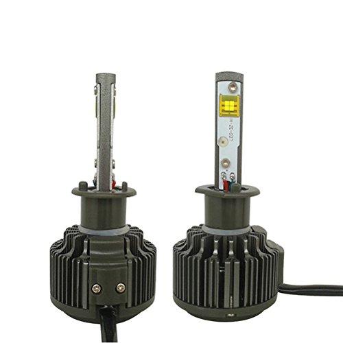 LEORX V16 H1 LED Phare Voiture Remplacement Tête de Brouillard Ampoule Lampe