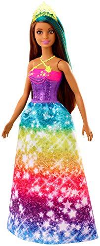 Barbie Dreamtopia Muñeca Hada con Top Rosa y Morado y Falda