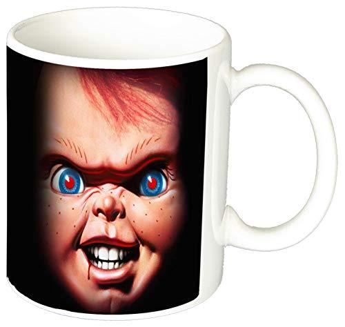 MasTazas El Muñeco Diabolico Child'S Play Chucky Taza Ceramica