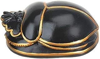 Egyptian Black Scarab Collectible Figurine