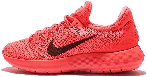 Nike Wmns Lunar Skyelux, Zapatillas de Entrenamiento para Mujer, Naranja (Coral / Negro / Hot Punch / Night Maroon / Lava Glow), 40.5 EU