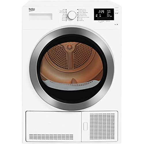 Beko DCR93161W Freestanding B Rated Condenser Tumble Dryer - White