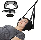 Neck Traction Hammock for Neck & Shoulder Pain Relief | Gentle Cervical Traction Neck Stretcher for Muscle Relaxation & Physical Therapy