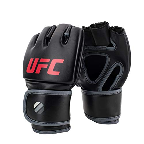 UFC 5 oz MMA Martial Arts Training Gloves, Black, Large/X-Large