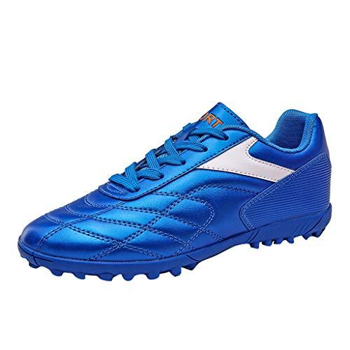 BRISEZZ Männer Frauen Mode High-Top Fußballschuhe Outdoor Sportschuhe Paar Schuhe Laufen Wandern Klettern Schuhe Kursteilnehmer-Turnschuh Outdoor-Schuhe (35, Rosa)