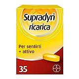 Supradyn Ricarica Integratore Alimentare Multivitaminico e di Minerali con Coenzima Q10 contro Stanchezza Fisica e Affaticamento, 35 Compresse