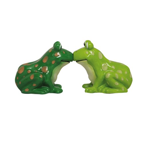 Pacific Giftware ATTRACTIVES Salt and Pepper Shaker - Frogs