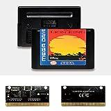 Yuva El Rey León EUR Label Flashkit MD Tarjeta PCB Dorada Electroless para Consola de Videojuegos Sega Genesis Megadrive (PAL-E)
