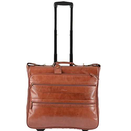 ASHWOOD LUGGAGE Mens Wheeled Suit Carrier Cognac/vt : 63421 NA