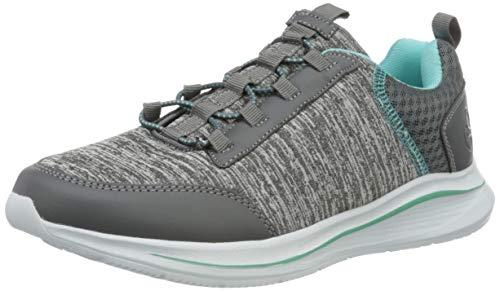 Rieker Damen Frühjahr/Sommer N9853 Sneaker, Grau (Grau/Murmel/Grau 42), 38 EU