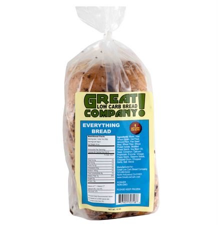Great Low Carb Bread Co. - Everything - 3 Loaves