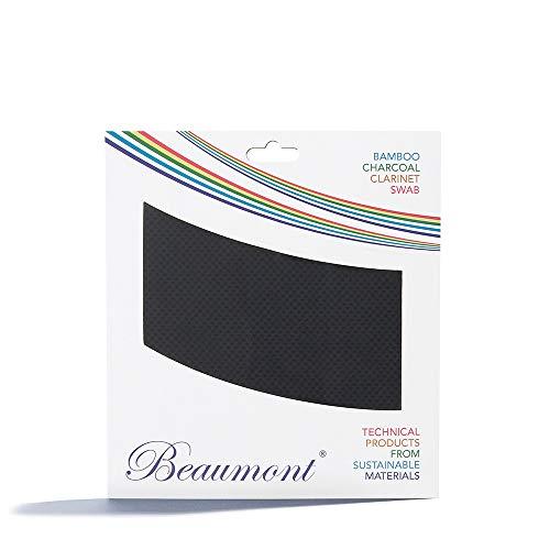 "Beaumont ""Concert Noir"" Paño con Hisopo de Cuerda para Limpieza Interior de Clarinete Si Bemol Buffet, Yamaha, Selmer, Leblanc (BCPT-CN)"