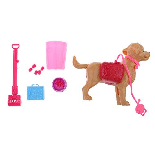 Juguete Mini Perro con Aceesorios Surtidos para Muñecas