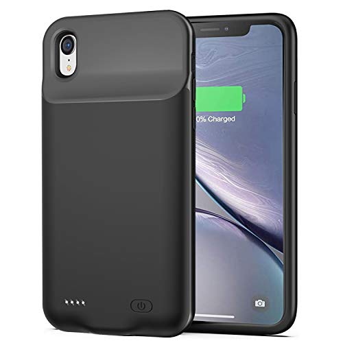 Battery Case for iPhone XR, 6500...
