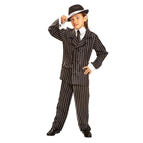 Desconocido My Other Me - Disfraz de Gánster para niñas, talla 7-9 años (Viving Costumes MOM00499)