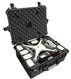 Case Club Pre-Cut Waterproof Compact Drone Case - Fits DJI Phantom 4 (Gen 2)