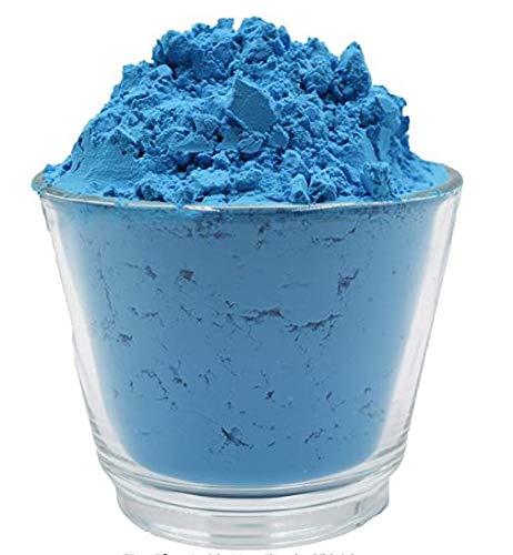 20 Tassen van Holi Gulal Poeder Wateroplosbaar Natuur Festival Foto Schiet Rangoli Kleuren Regenboog Poeder Heilige Kleur Tassen Glitter Kleur Poeder Foto's Blauw