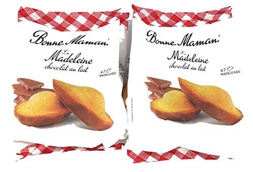 Bonne Maman La Madeleine chocolat au lait 2er Pack 2 x 210g