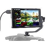FEELWORLD LUT6 6インチ 超高輝度 2600nits HDR / 3D LUT タッチスクリーンデジタル一眼レフカメラフィールドモニター、波形ベクトルスコープヒストグラム4K HDMI入力出力1920X1080 IPS