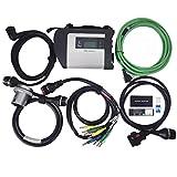 Hadeyicar Calidad de Chip Completa MB Star C4 MB Conexión SD Compacto Herramienta 4 diagnóstico ForBENz automóvil y camión con Software 05/2019 HDD