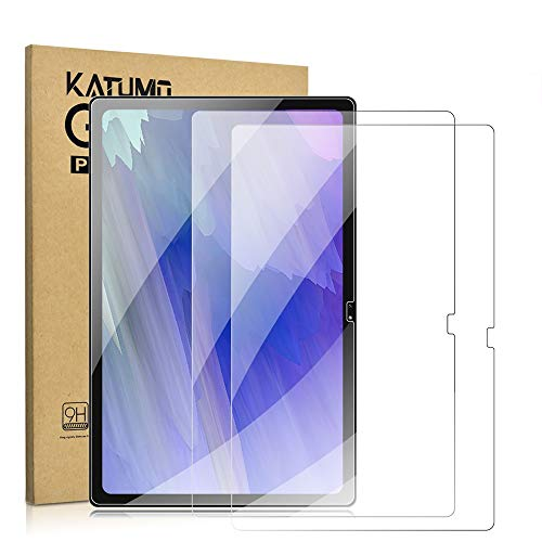[2 Pack] KATUMO Screen Protector for Samsung Galaxy Tab A7 2020 Tempered Glass Film Protective Screen for SM-T500/T505/T507