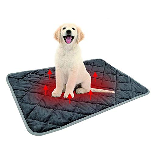 HAOXJ1 Non-Electric Pet Warming Pad, Pets Cat Bed Pet Blanket Thermal Cat and Dog Warming Bed Mat for Pets Cats Dogs and Kittens for Outdoor Indoor (Size : X-Large)