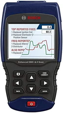 BOSCH Automotive Tools 1300 Scan Tool with Enhanced OBD II Capability Model OBD 1300 product image