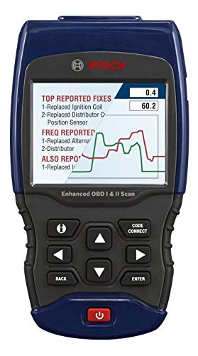 BOSCH Automotive Tools 1300 Scan Tool with Enhanced OBD II Capability,...