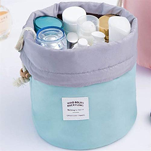 ZJXYYYzj Trousse De Maquillage, Sac cosmétique Ronde de la Mode Maquillage Sac étanche Voyage Makeup Organisateur Femme Stockage Kit Case Lady Toiletry Box (Color : Green)