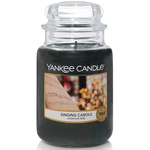 Yankee Candle candela profumata in giara grande | Cantando canti natale | durata: fino a 150 ore