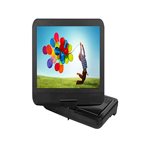 ZXD Reproductor de DVD portátil sin Zonas de 11 Pulgadas con batería Recargable de 6 Horas, Reproductor de DVD de Pantalla Grande de 15,4 Pulgadas sincronizado TV Compatible con Tarjetas USB/SD