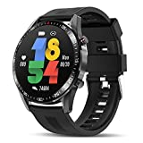 Tagobee Smart Watch for Android IOS Phones,Upgraded Bluetooth Smartwatch Fitness Tracker for Men Women,IP67 Waterproof 1.3'Touch Screen Sport Fitness Watch with Heart Rate Sleep Monitor Blood Pressure