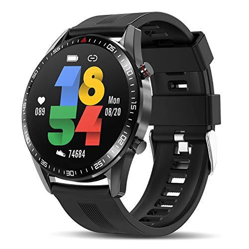 TagoBee Smartwatch Reloj Inteligente Hombres Mujer con Monitor de Sueño Presión Arterial Pulsómet