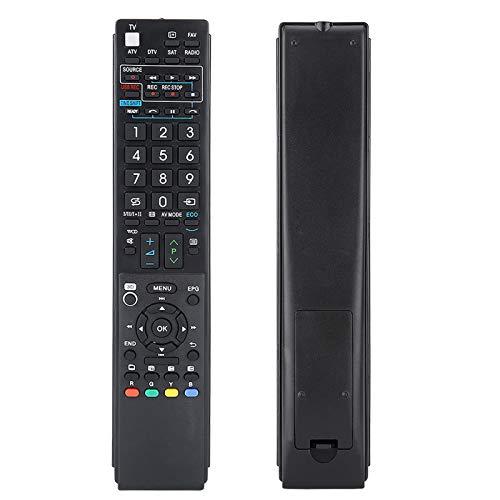 Goshyda 1 Piezas de Control Remoto de Rendimiento Estable, Control Remoto Universal, Mayor Distancia de transmisión para manillares de Motocicleta elevadores Fit LCD LED Smart TV