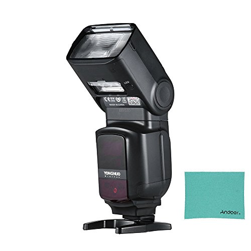 YONGNUO YN968EX-RT Wireless Maestro de TTL Flash Speedlite con Built-in Luz LED 1/8000S HSS para Canon