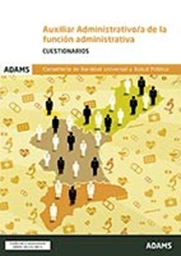 Cuestionarios de Auxiliar Administrativo/a de la Conselleria de Sanidad Universal y Salud Pública