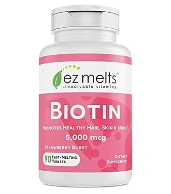 EZ Melts Biotin for Hair, Skin, Nails