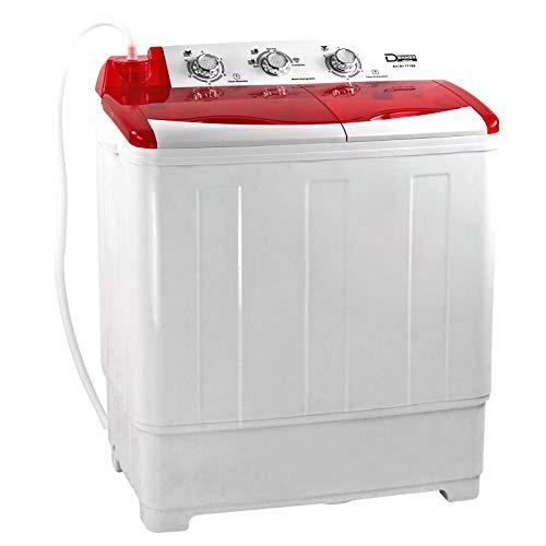 Mini - Waschmaschine DMW6 6 kg 135 Watt 230V 1300 U/min 2 Programme 68x38x80 cm