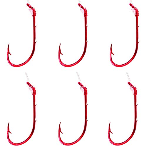 eagle claw snelled fishing hooks size 10