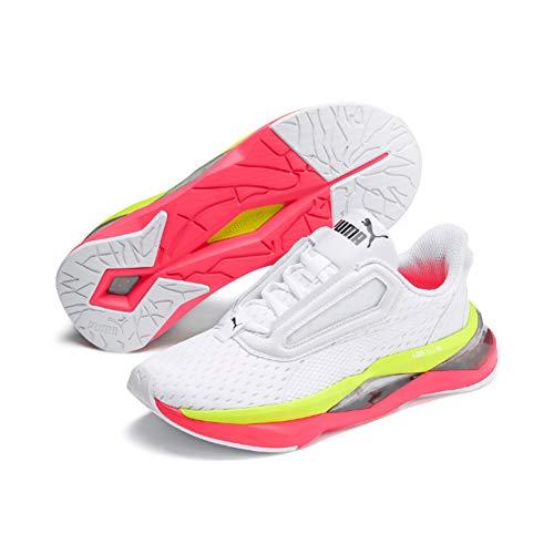 Puma Lqdcell Shatter Xt Wn's', Scarpe Sportive Indoor Donna, Bianco White-Pink Alert, 37 EU