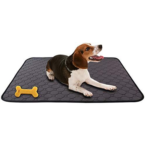 MeijieM Tappetini per Urine per Cani e Gatti - Pad di Allenamento per Animali Domestici Moquette Impermeabile Riutilizzabile Lavabile (100 * 67cm)