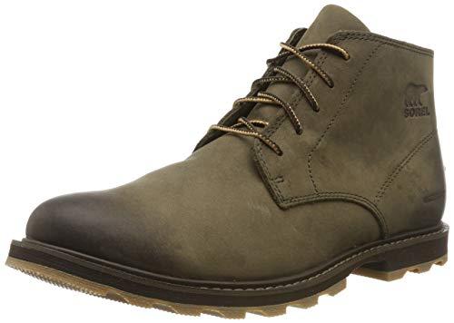 Sorel - Men's Madson Chukka Waterproof Boots, Leather, Major, Cordovan, 9 M US
