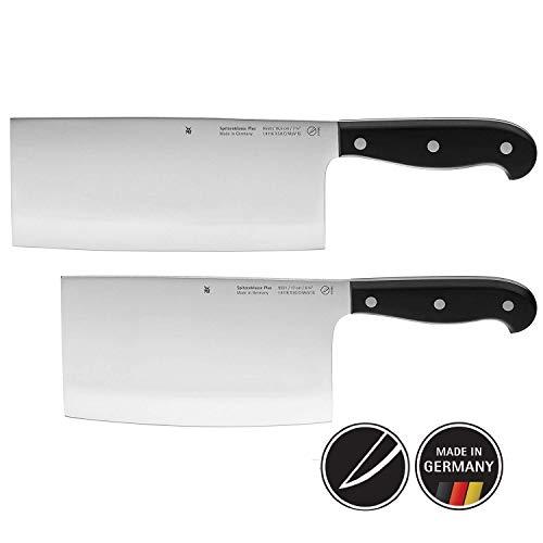 WMF Spitzenklasse Plus Asia Messerset 2-teilig 2 Messer Küchenmesser geschmiedet Performance Cut Kochmesser Hackmesser