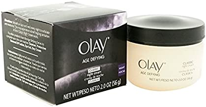 Night Cream with Pro Retinol and Vitamins C & E by Olay Age Defying,Classic , Pack of 2