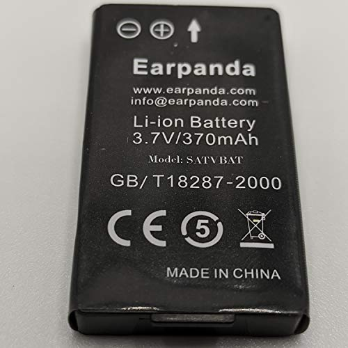 Earpanda Wireless TV Headphones Replacement Battery,Additional Battery for TV Headset