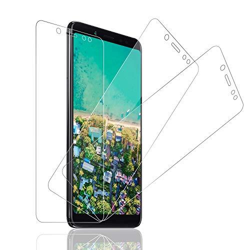 SNUNGPHIR® [3-Pack Cristal Templado Xiaomi Redmi Note 5 Protector Pantalla Xiaomi Redmi Note 5 Cristal Templado [2.5d Borde Redondo] [9H Dureza] [Alta Definición] [Anti-Arañazos]